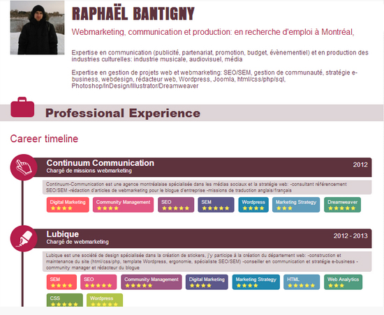 des applications qui r u00e9volutionnent votre cv