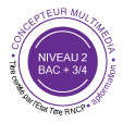 Formation diplomante Concepteur Multimédia bac +3/4 AP Formation